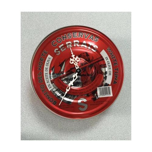 Reloj hecho con una lata de bonito