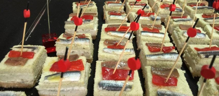 Sándwich tártaro de anchoas