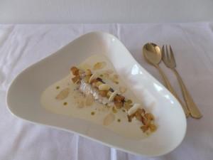 Receta de sardinillas Serrats con ajoblanco
