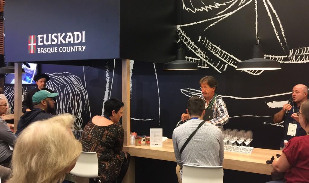 Showcooking en San Sebastián Gastronomika 2016